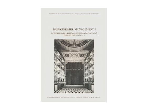 Buchcover Musiktheater 1