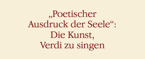 Poetischer Ausdruck der Seele
