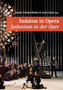 Cover of the new book Judaism in Opera